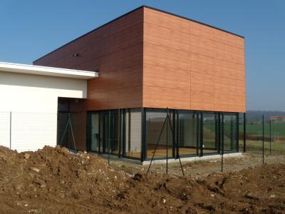 Construction d'un groupe scolaire à Chauconin Neufmontier
